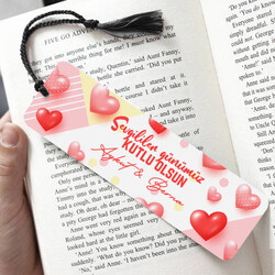 - 14 Şubat Sevgi Hediyesi Kitap Ayracı