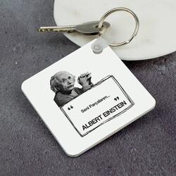 - Albert Einstein Esprili Anahtarlık