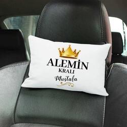 - Alemin Kralı İsimli Araç Koltuk Yastığı