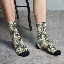 - Amazon Tasarımlı Erkek Çorabı