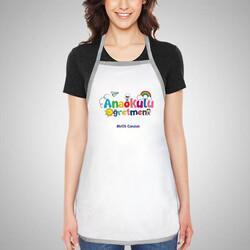 - Anaokulu Öğretmenine Hediye Mutfak Önlüğü