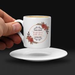 - Anneler Günü Tasarımlı Kahve Fincanı