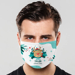 - Arkadaşa Yılbaşı Hediyesi İsimli Maske