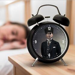 - Atatürk Resimli Çalar Saat
