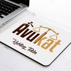 - Avukatlara Hediyelik İsme Özel Mousepad