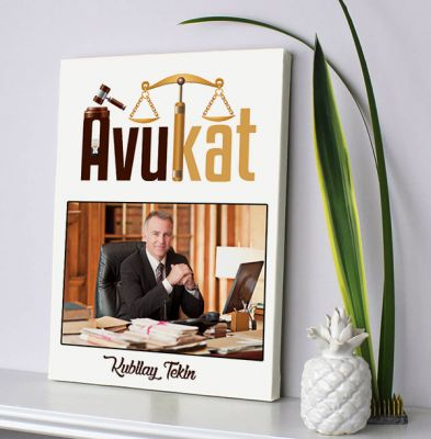 - Avukatlara Özel Kanvas Tablo