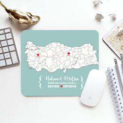 - Ayrı Şehirlerde Olsak da Kalplerimiz Bir Mousepad