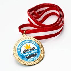 - Babalar Günü Hatırası İsme Özel Madalyon
