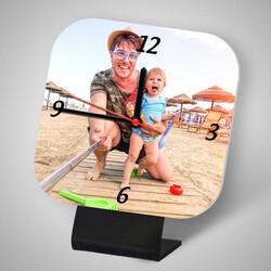 - Babalara Özel Fotoğraflı Masa Saati