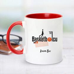 - Basketbolcu İçin Kırmızı Kupa Bardak