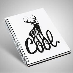 - Be Cool Motto Tasarım Defter