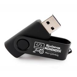 - Bilgisayar Mühendisine Hediye Siyah USB Bellek