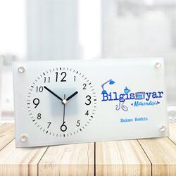 - Bilgisayar Mühendislerine Özel Cam Masa Saati