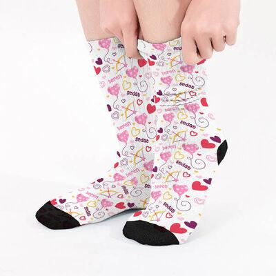 - Biricik Sevgilim İsme Özel Çorap