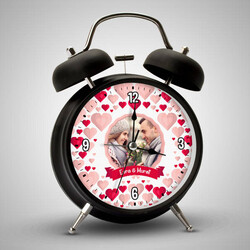- Bizim Aşkımız Sevgililere Özel Alarm Saat