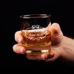 - Canım Kocam İsme Özel Viski Bardağı