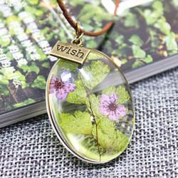 - Canlı Çiçek Kolye YK231