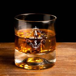 - Çiftlere Özel 2 İsimli Viski Bardağı