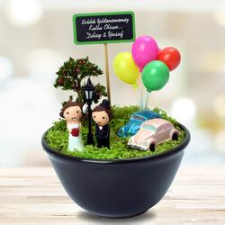 - Çiftlere Özel Romantik Minyatür Bahçe