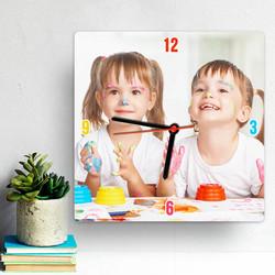 - Çocuklara Özel Fotoğraflı Duvar Saati