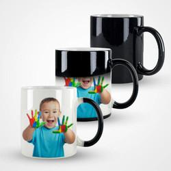 - Çocuklara Özel Fotoğraflı Sihirli Kupa