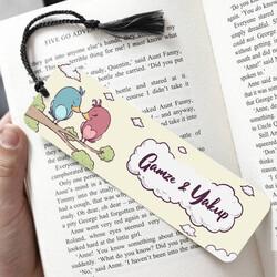 - Daldaki Kuşlar İsimli Kitap Ayracı