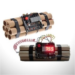 Dinamit Lokumu Şeklinde Alarm Saat - Thumbnail