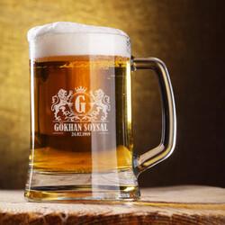 - Doğum Günü Tarihli İsme Özel Bira Bardağı