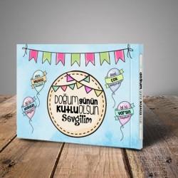 - Doğum Günün Kutlu Olsun Sevgilim Kitabı