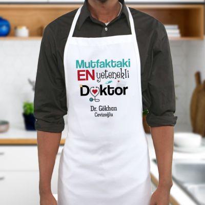 - Doktor Eşe Hediye Mutfak Önlüğü