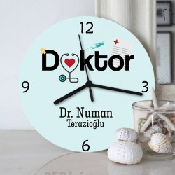 - Doktorlara Özel Duvar Saati