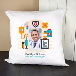 - Doktorlara Özel Resimli Yastık