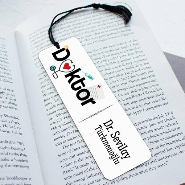 Doktorlara Özel Tasarım Kitap Ayracı