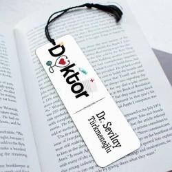 - Doktorlara Özel Tasarım Kitap Ayracı