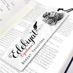 - Edebiyat Öğretmenine Özel Kitap Ayracı