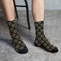 - Elmas Tasarımlı Erkek Çorabı