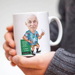 - Emekli Babam Karikatürlü Kupa Bardak
