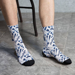 - Erkeğe Hediye İsme Özel Çorap