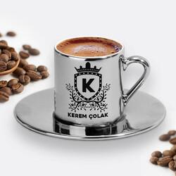 - Erkeğe Hediye Silver Kahve Fincanı