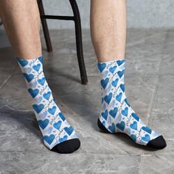 - Erkek Arkadaşa Hediye İsimli Çorap