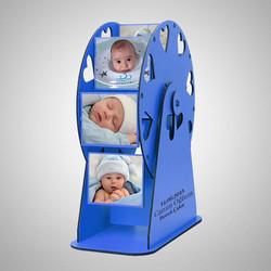 - Erkek Bebeğe Özel Fotoğraflı Dönme Dolap