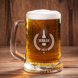 - Erkeklere Özel Bira Bardağı