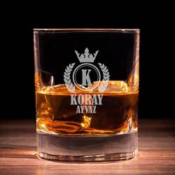 - Erkeklere Özel Premium Viski Bardağı