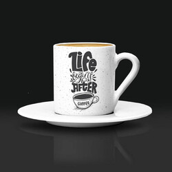 - Estetik Tasarımlı Kahve Fincanı
