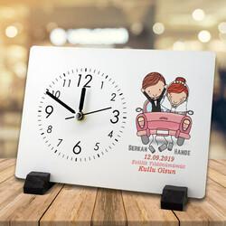 - Evlilik Yıldönümü Hediyesi Masa Saati