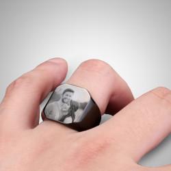 - Fotoğraflı Erkek Yüzüğü
