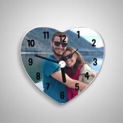 - Fotoğraflı Kalp Şeklinde Buzdolabı Magneti