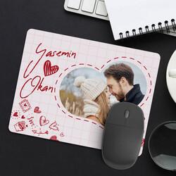- Fotoğraflı Romantik Mousepad