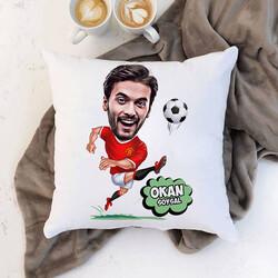 - Futbolcu Karikatürlü Yastık