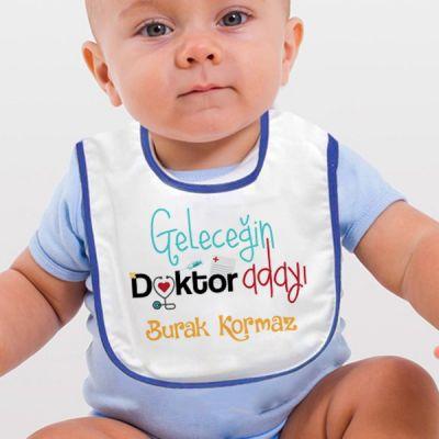 - Geleceğin Doktor Adayı Bebek Mama Önlüğü